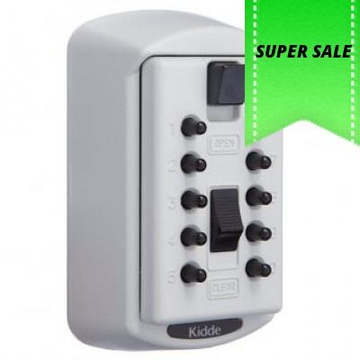 Kidde S6  (2 key Capacity) White