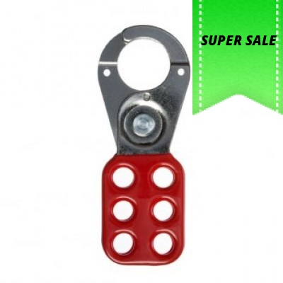 Abus Hasp Lockout Hasp Safety 25mm Red