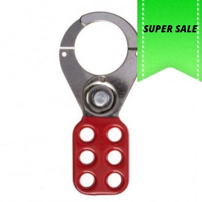 Abus Safety Lockout Hasp 38mm Red