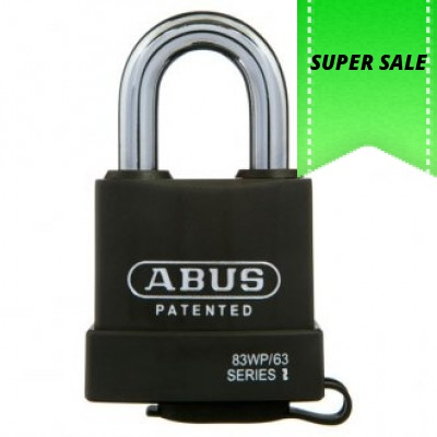 Abus 83WP63 Padlock - Price Includes Delivery