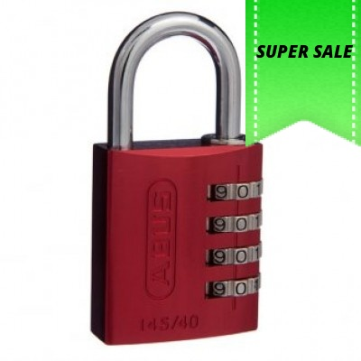 6 Pack 19321 ABUS 72//40 Aluminum Safety Padlock Green Keyed Different