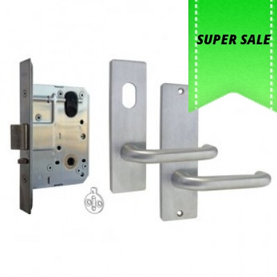 Kaba MS2 Mortice Lock and Handles Package (Classroom Function)