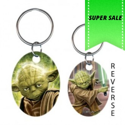 HOWARD KEY RING STAR WARS YODA
