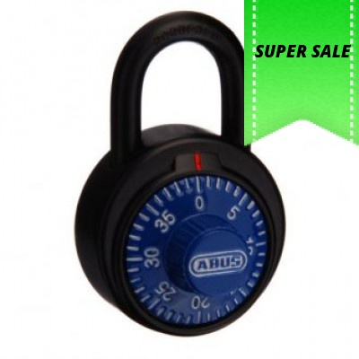 Abus 78KC50 Combination padlock Box of 12 Blue