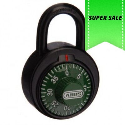 Abus 78KC50 Combination padlock Box of 12 Green