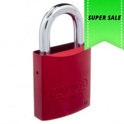 Abus 83AL45 Coloured Padlocks - Price Includes Delivery