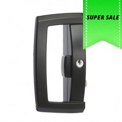 Lockwood Onyx Glass Sliding door Deadlock